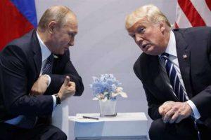 अमेरिका के राष्ट्रपति डोनाल्ड ट्रंप ने रूस में अमेरिकी दूतावास के स्टाफ में कटौती करने का आदेश देने के लिए राष्ट्रपति ब्लादिमीर पुतिन का शुक्रिया अदा किया