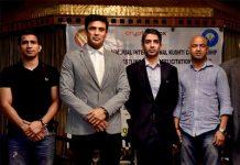 Sangram Singh launches KD Jadhav Memorial Kushti Championship