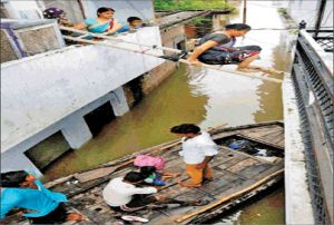 Flood in many areas of eastern uttar pradesh help sought from army