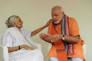 Meet Narendra Modi's mother Heeraben, whose blessings the PM seeks on his birthdays