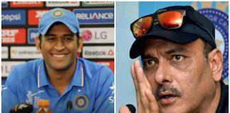 we cannot imagine to drop dhoni says head coach ravi shastri
