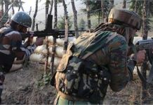 pakistan targets indian posts once again