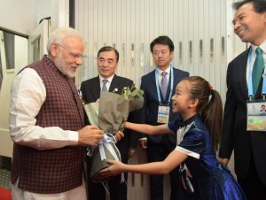 Prime Minister Narendra Modi Arrives in China to Attend BRICS Summit