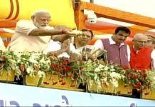 PM Narendra Modi dedicates Sardar Sarovar Dam on river Narmada to the nation