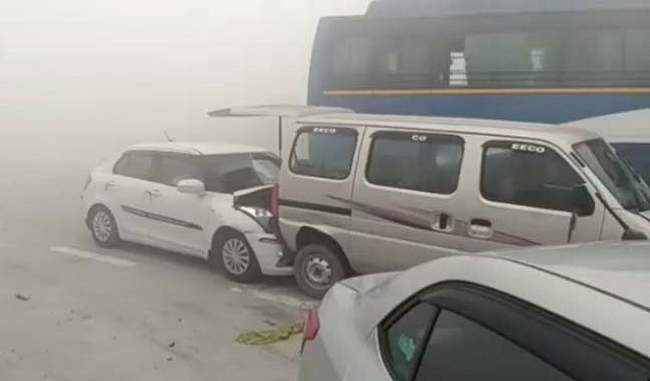 Vehicles Collide