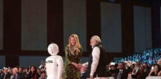 Ivanka Trump launched Robot Mitra