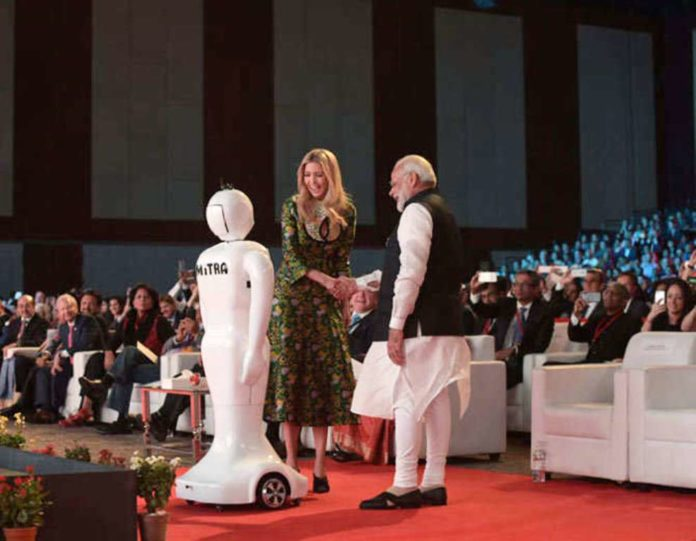Ivanka Trump launched Robot Mitra