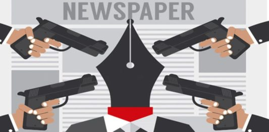 .Journalism at Gun Point