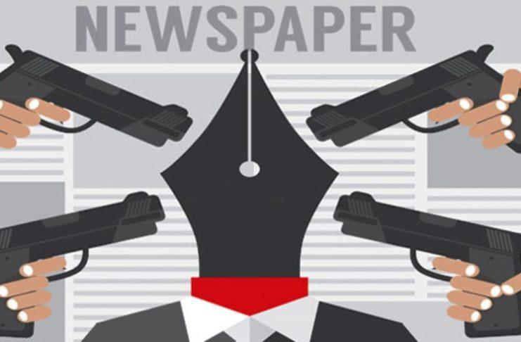 .Journalism at Gun Point