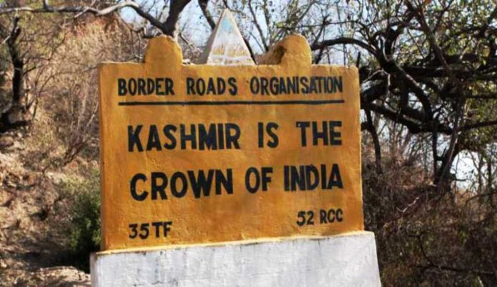 Kashmir is the crown of india