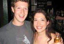 randi Zuckerberg with Mark Zuckerberg
