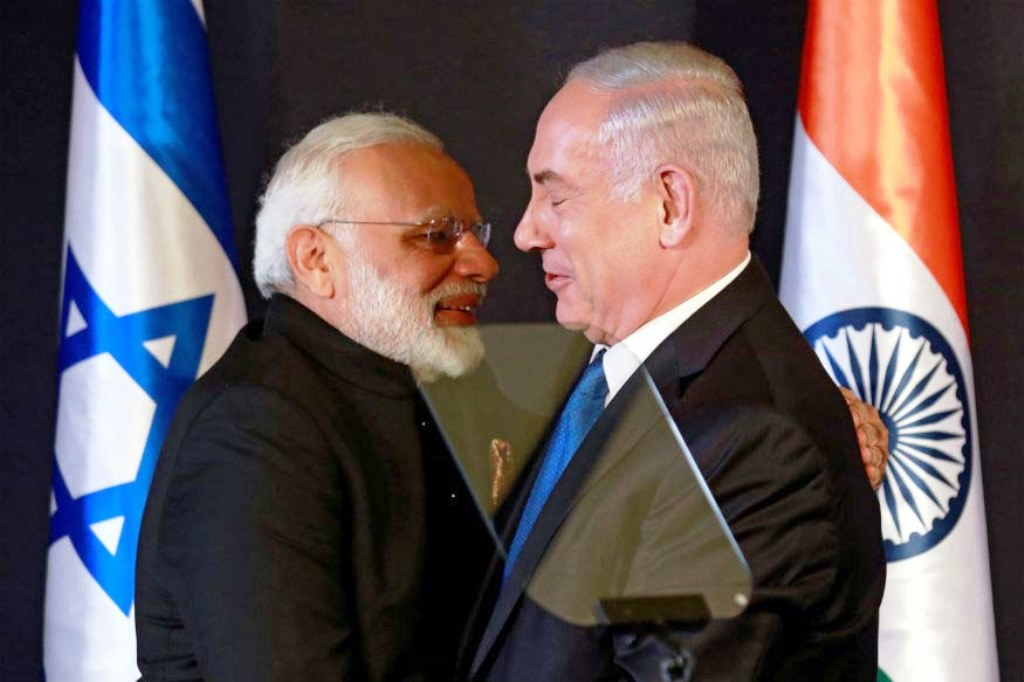 PM-MODI-&-Netanyahu