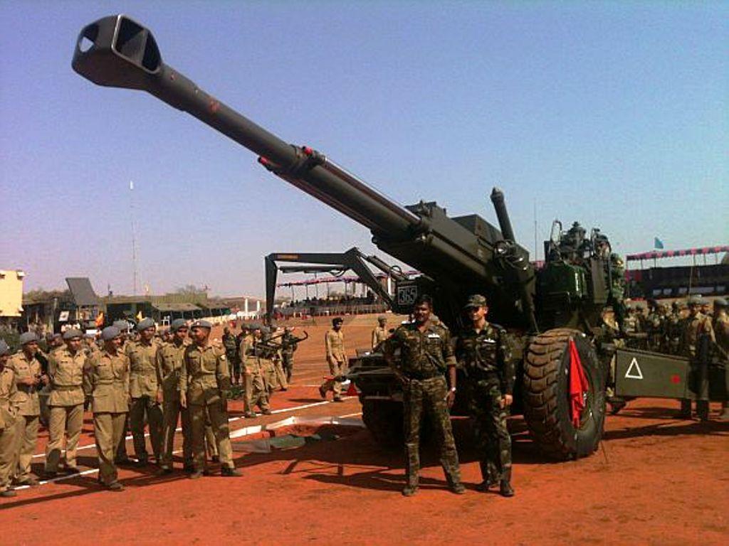 Bofors-Tank-in-Deolali
