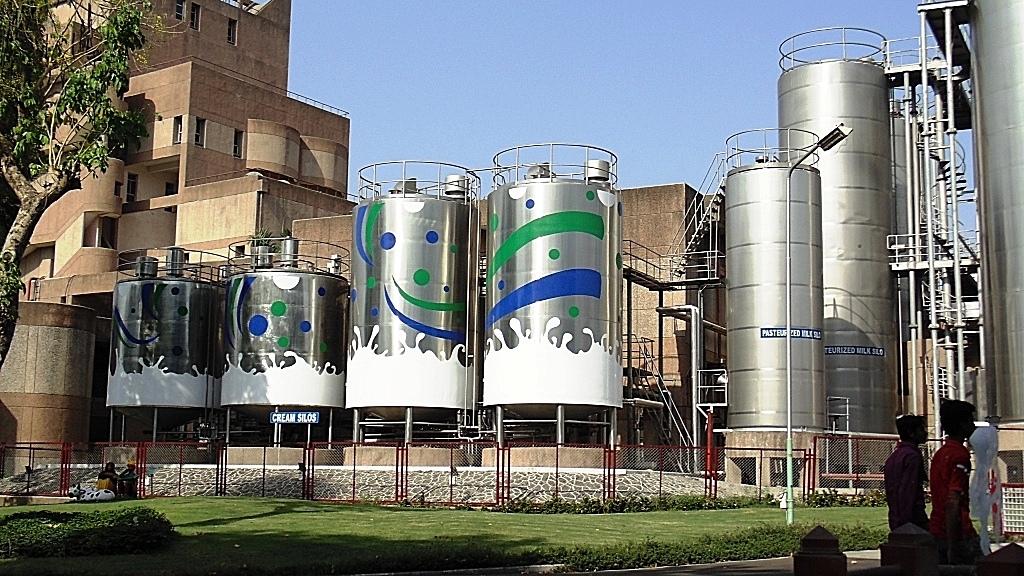 Amul-dairy-plants