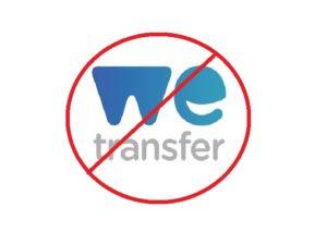 We Transfer Ban