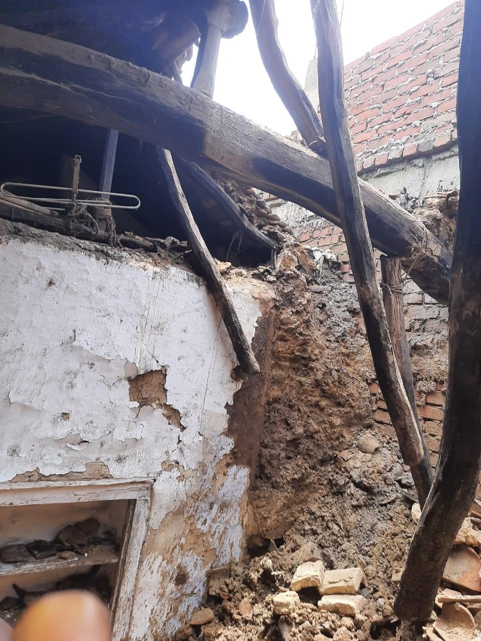 MLA's broken house