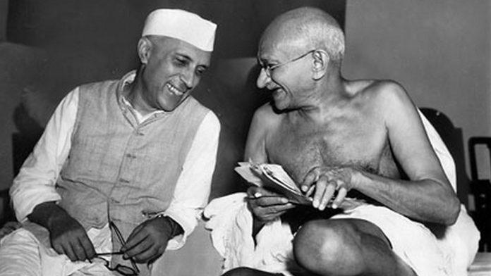 Nehru-and-Gandhi