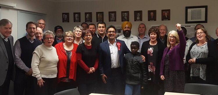 Dr Gaurav Sharma Labour Candidate for Hamilton West