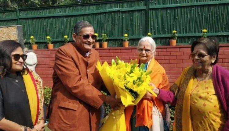 Mridula Sinha & RK Sinha
