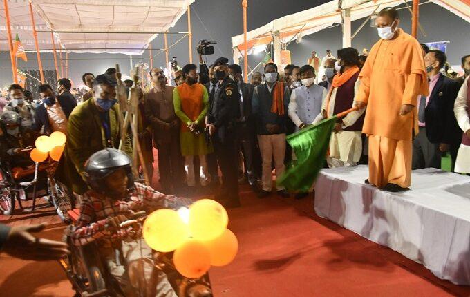 CM at Gorakhapur