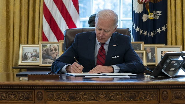 Joe Biden reverses another Trump-era move.