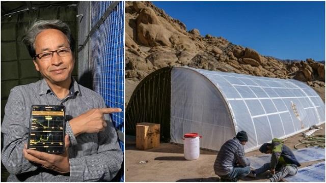 Sonam Wangchuk made solar heated military tent